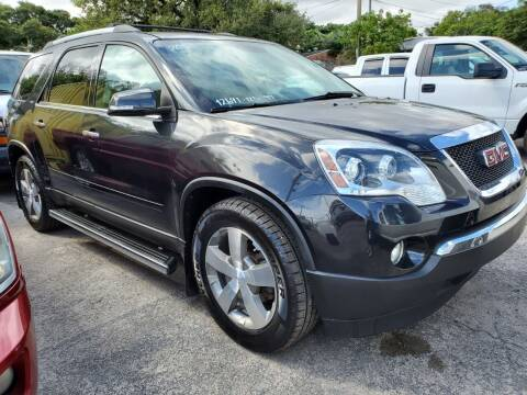 2012 GMC Acadia for sale at H.A. Twins Corp in Miami FL