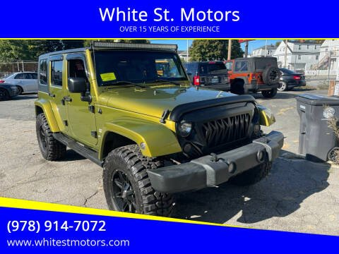 2007 Jeep Wrangler Unlimited for sale at White St. Motors in Haverhill MA