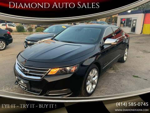 2015 Chevrolet Impala for sale at Diamond Auto Sales in Milwaukee WI
