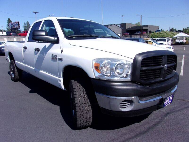 2007 Dodge Ram Pickup 2500 for sale at Delta Auto Sales in Milwaukie OR