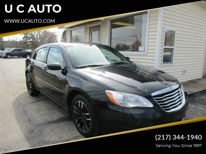 2012 Chrysler 200 for sale at U C AUTO in Urbana IL