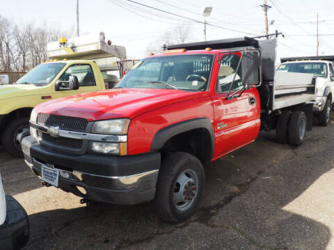 2004 Chevrolet Silverado 3500 for sale at Scheuer Motor Sales INC in Elmwood Park NJ
