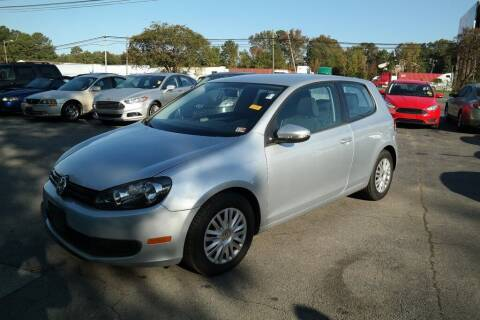 2012 Volkswagen Golf for sale at 6348 Auto Sales in Chesapeake VA