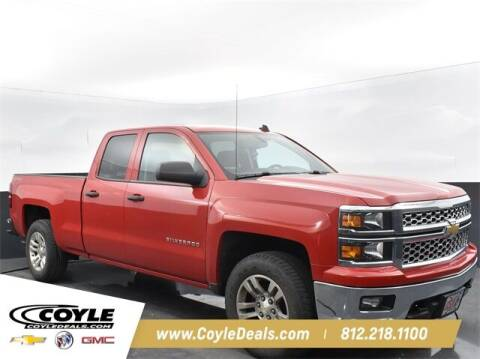 2014 Chevrolet Silverado 1500 for sale at COYLE GM - COYLE NISSAN - New Inventory in Clarksville IN