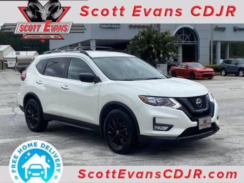 2018 Nissan Rogue for sale at SCOTT EVANS CHRYSLER DODGE in Carrollton GA