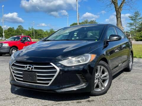 2017 Hyundai Elantra for sale at MAGIC AUTO SALES in Little Ferry NJ