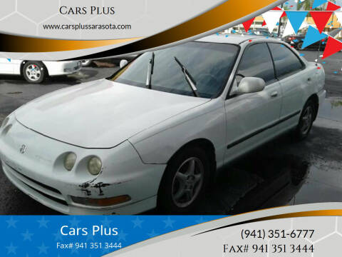 1994 Acura Integra for sale at Cars Plus in Sarasota FL