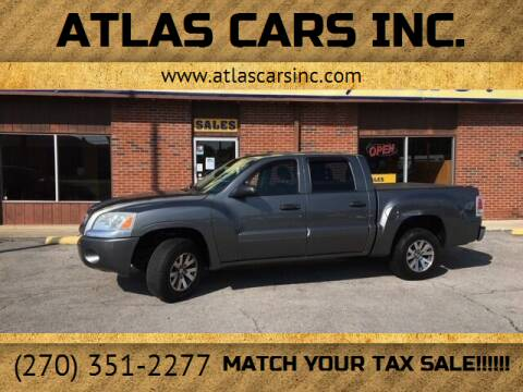 2007 Mitsubishi Raider for sale at Atlas Cars Inc. - Elizabethtown Lot in Elizabethtown KY