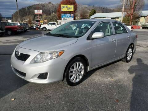 2010 Toyota Corolla for sale at MCMANUS AUTO SALES in Knoxville TN