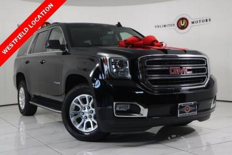 2018 GMC Yukon for sale at INDY'S UNLIMITED MOTORS - UNLIMITED MOTORS in Westfield IN