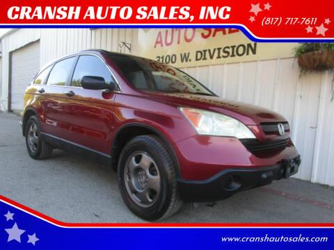 2009 Honda CR-V for sale at CRANSH AUTO SALES, INC in Arlington TX