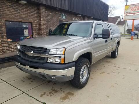 2003 Chevrolet Silverado 1500HD for sale at Madison Motor Sales in Madison Heights MI