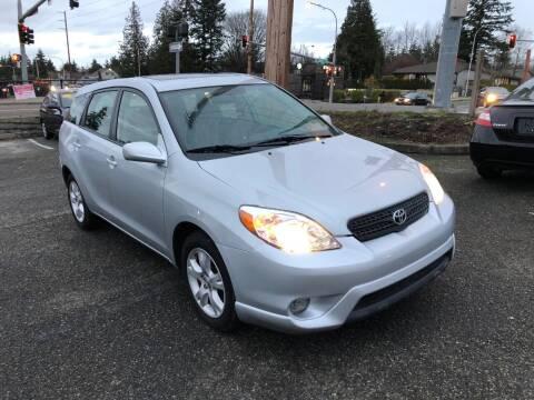 2008 Toyota Matrix for sale at KARMA AUTO SALES in Federal Way WA