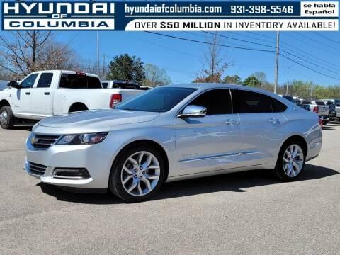 2018 Chevrolet Impala for sale at Hyundai of Columbia Con Alvaro in Columbia TN