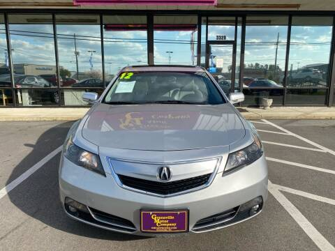 2012 Acura TL for sale at Washington Motor Company in Washington NC