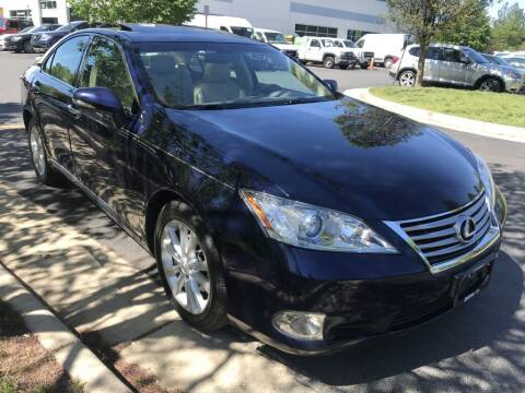 2011 Lexus ES 350 for sale at Dotcom Auto in Chantilly VA