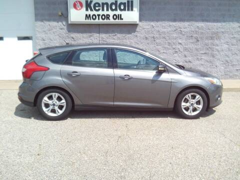2014 Ford Focus for sale at Keller North Country Motors in Howard City MI