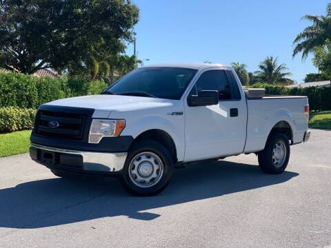 2013 Ford F-150 for sale at Citywide Auto Group LLC in Pompano Beach FL