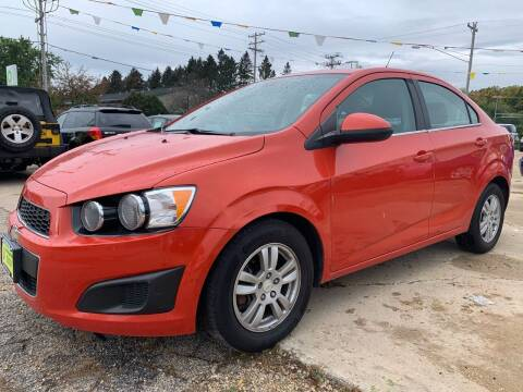 2012 Chevrolet Sonic for sale at Super Trooper Motors in Madison WI