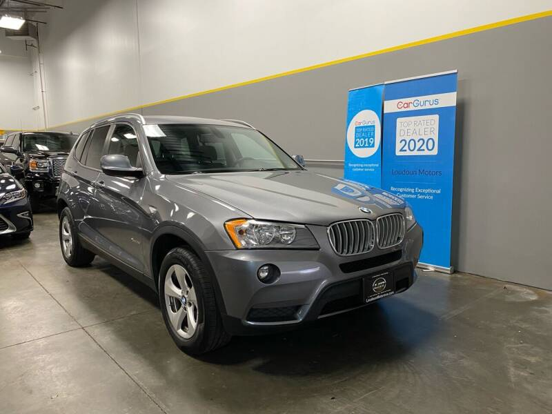 2012 BMW X3 for sale at Loudoun Motors in Sterling VA