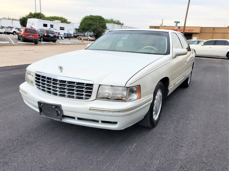 1999 Cadillac DeVille for sale at Image Auto Sales in Dallas TX