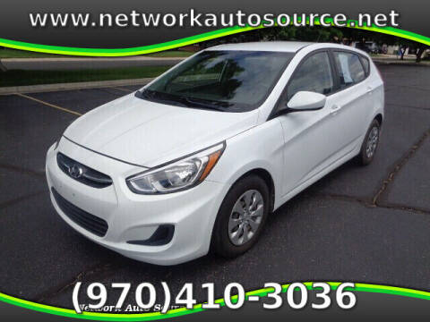 2016 Hyundai Accent for sale at Network Auto Source in Loveland CO