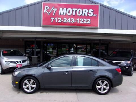 2013 Chevrolet Cruze for sale at RT Motors Inc in Atlantic IA