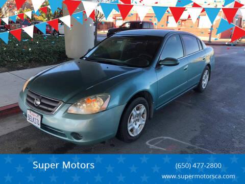 2003 Nissan Altima for sale at Super Motors in San Mateo CA