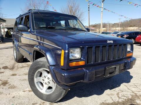 1997 Jeep Cherokee for sale at BBC Motors INC in Fenton MO