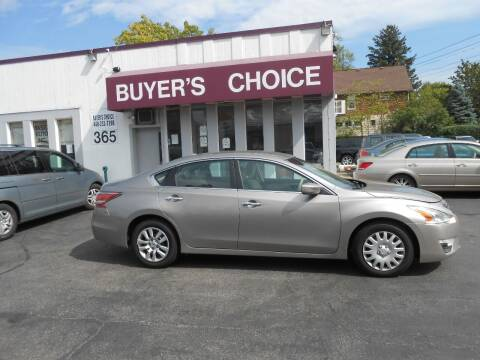 2015 Nissan Altima for sale at Buyers Choice Auto Sales in Bedford OH