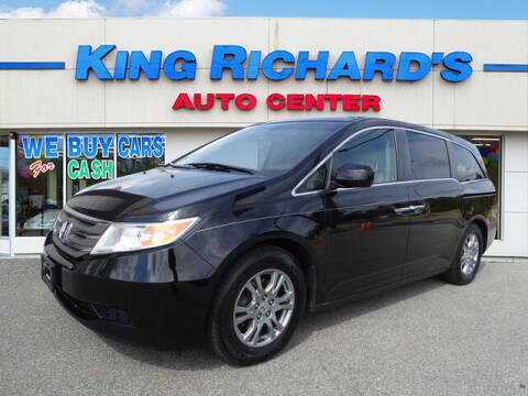 2011 Honda Odyssey for sale at KING RICHARDS AUTO CENTER in East Providence RI