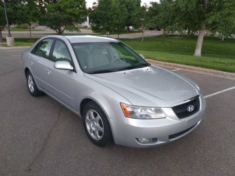 2006 Hyundai Sonata for sale at Red Rock's Autos in Denver CO