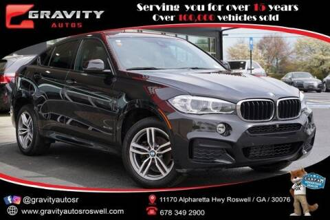 2018 BMW X6 for sale at Gravity Autos Roswell in Roswell GA