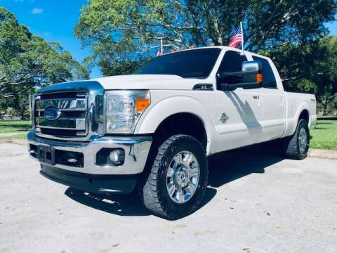2014 Ford F-250 Super Duty for sale at Venmotors LLC in Hollywood FL