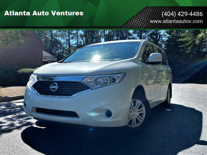 2011 Nissan Quest for sale at Atlanta Auto Ventures in Roswell GA