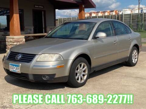 2004 Volkswagen Passat for sale at Affordable Auto Sales in Cambridge MN