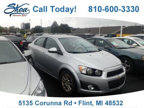 2012 Chevrolet Sonic for sale at Erick's Used Car Factory in Flint MI