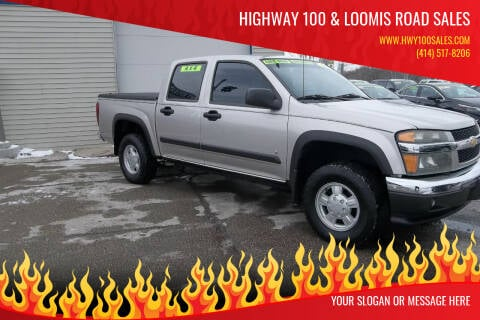 2006 Chevrolet Colorado for sale at Highway 100 & Loomis Road Sales in Franklin WI