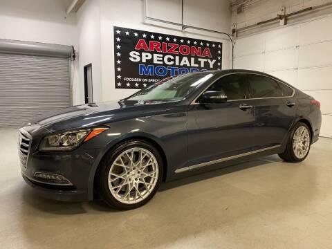 2017 Genesis G80 for sale at Arizona Specialty Motors in Tempe AZ