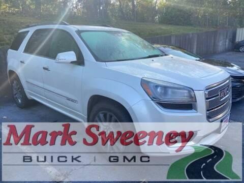 2013 GMC Acadia for sale at Mark Sweeney Buick GMC in Cincinnati OH