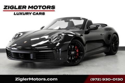 2020 Porsche 911 for sale at Zigler Motors in Addison TX