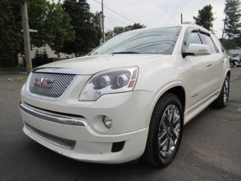 2012 GMC Acadia for sale at PRESTIGE IMPORT AUTO SALES in Morrisville PA