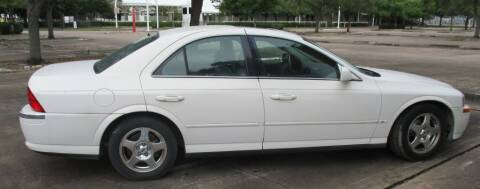 2000 Lincoln LS for sale at Texotic Motorsports in Houston TX