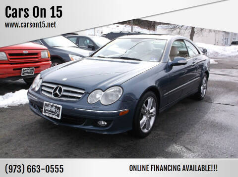 2006 Mercedes-Benz CLK for sale at Cars On 15 in Lake Hopatcong NJ