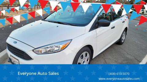 2018 Ford Focus for sale at Everyone Auto Sales in Santa Clara CA