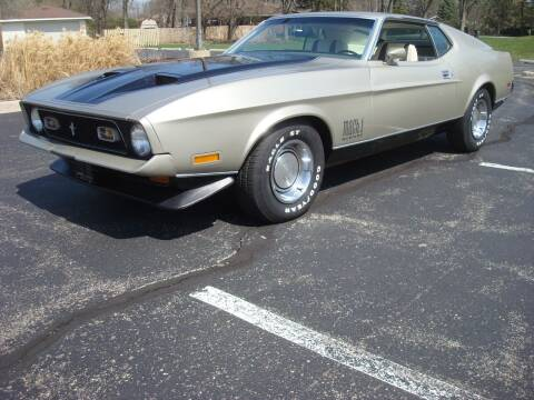 1971 Ford Mustang for sale at Naperville Auto Haus Classic Cars in Naperville IL