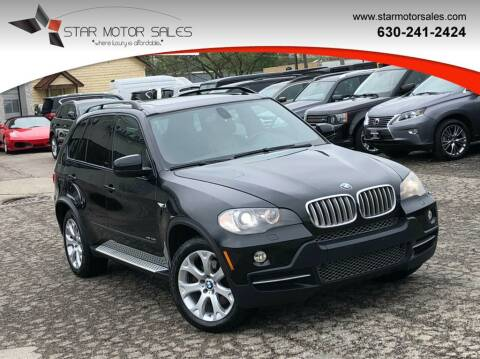 2009 BMW X5 for sale at Star Motor Sales in Downers Grove IL