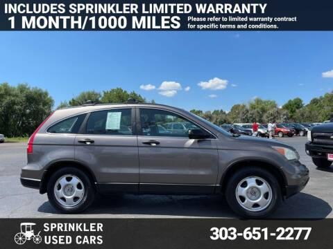 2010 Honda CR-V for sale at Sprinkler Used Cars in Longmont CO