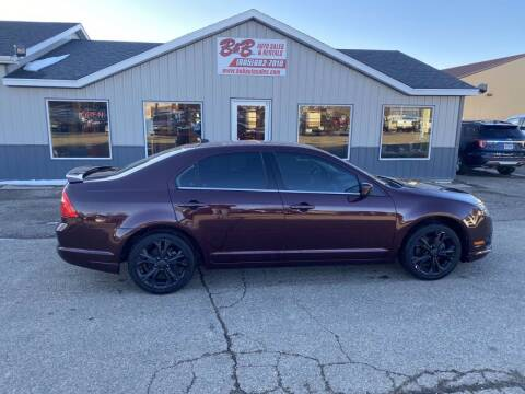 2012 Ford Fusion for sale at B & B Auto Sales in Brookings SD