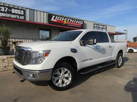 2017 Nissan Titan XD for sale at Lightning Motorsports in Grand Prairie TX